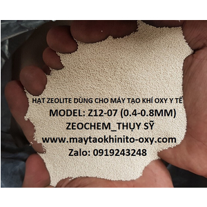 HẠT HÚT ẨM CHO MÁY TẠO KHÍ OXY Y TẾ ZEOCHEM Z12-07