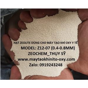 HẠT MOLECULAR SIEVE DÙNG CHO MÁY TẠO KHÍ OXY Y TẾ ZEOCHEM Z12-07