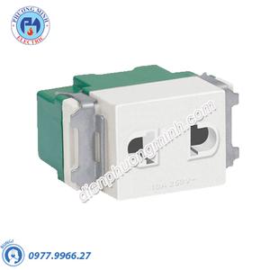 Hạt ổ cắm 2 chấu âm sàn - Model ASFMU10