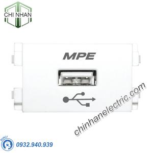 Hạt Ổ Cắm Sạc USB - A6USB - MPE