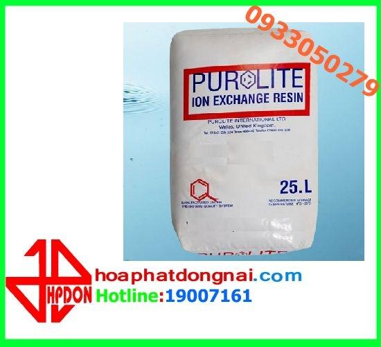 Hạt trao đổi ion PUROLITE- C-100