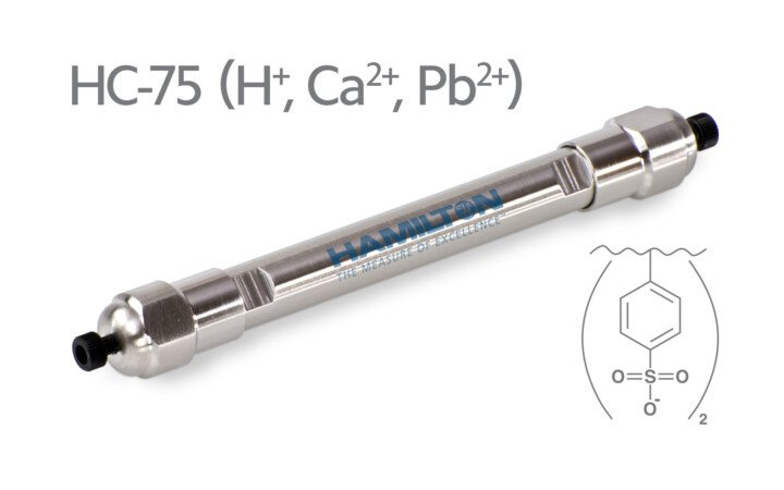 Cột sắc ký trao đổi Cation HC-75 Hamilton