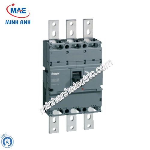 Thiết bị đóng cắt Hager (MCCB) - Model HCE800U