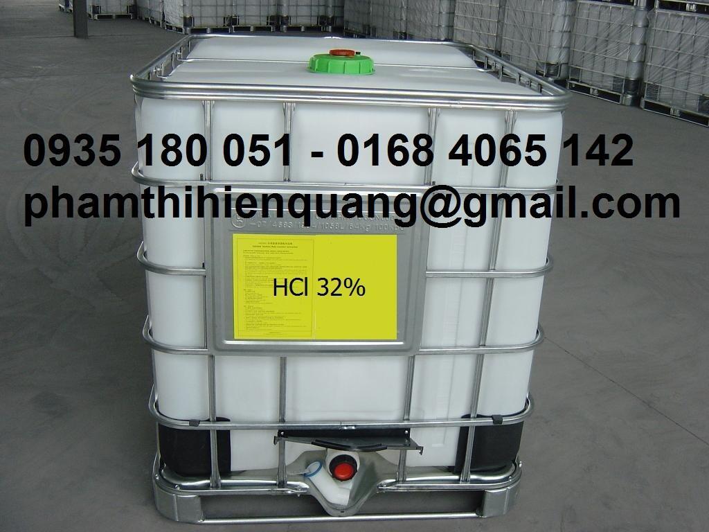Axit clohydric, HCL 32%