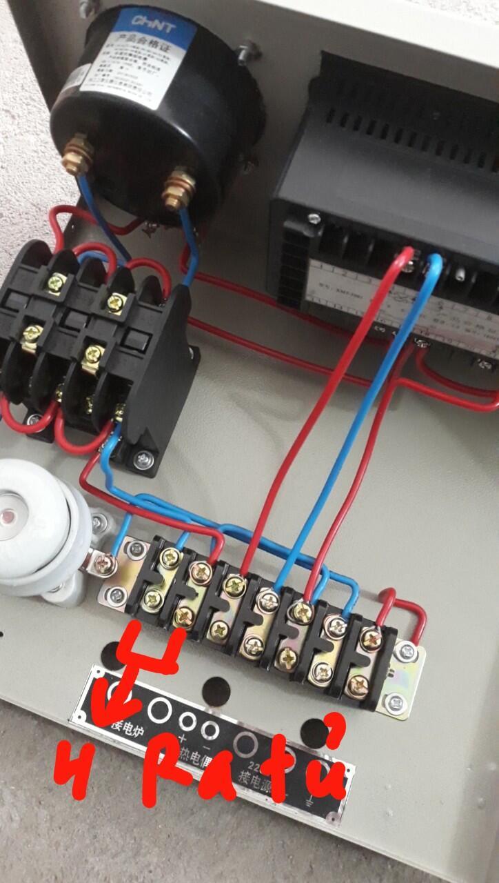 hướng dẫn đấu điện tò nung