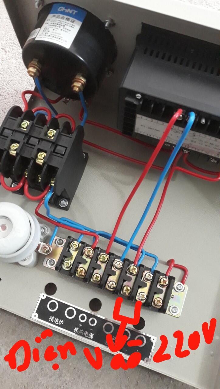 hướng dẫn đấu điện lò nung
