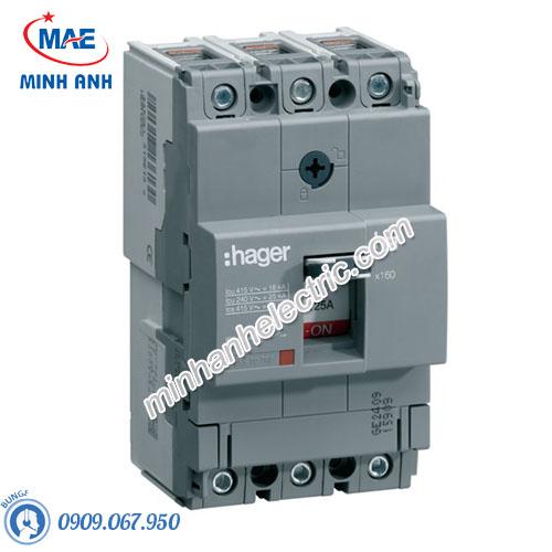 Thiết bị đóng cắt Hager (MCCB) - Model HHA125Z