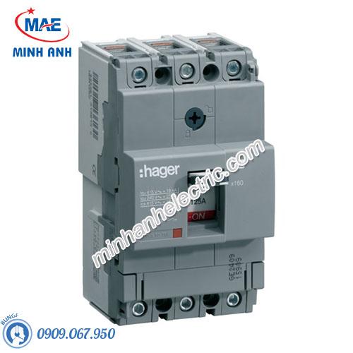 Thiết bị đóng cắt Hager (MCCB) - Model HHA160U