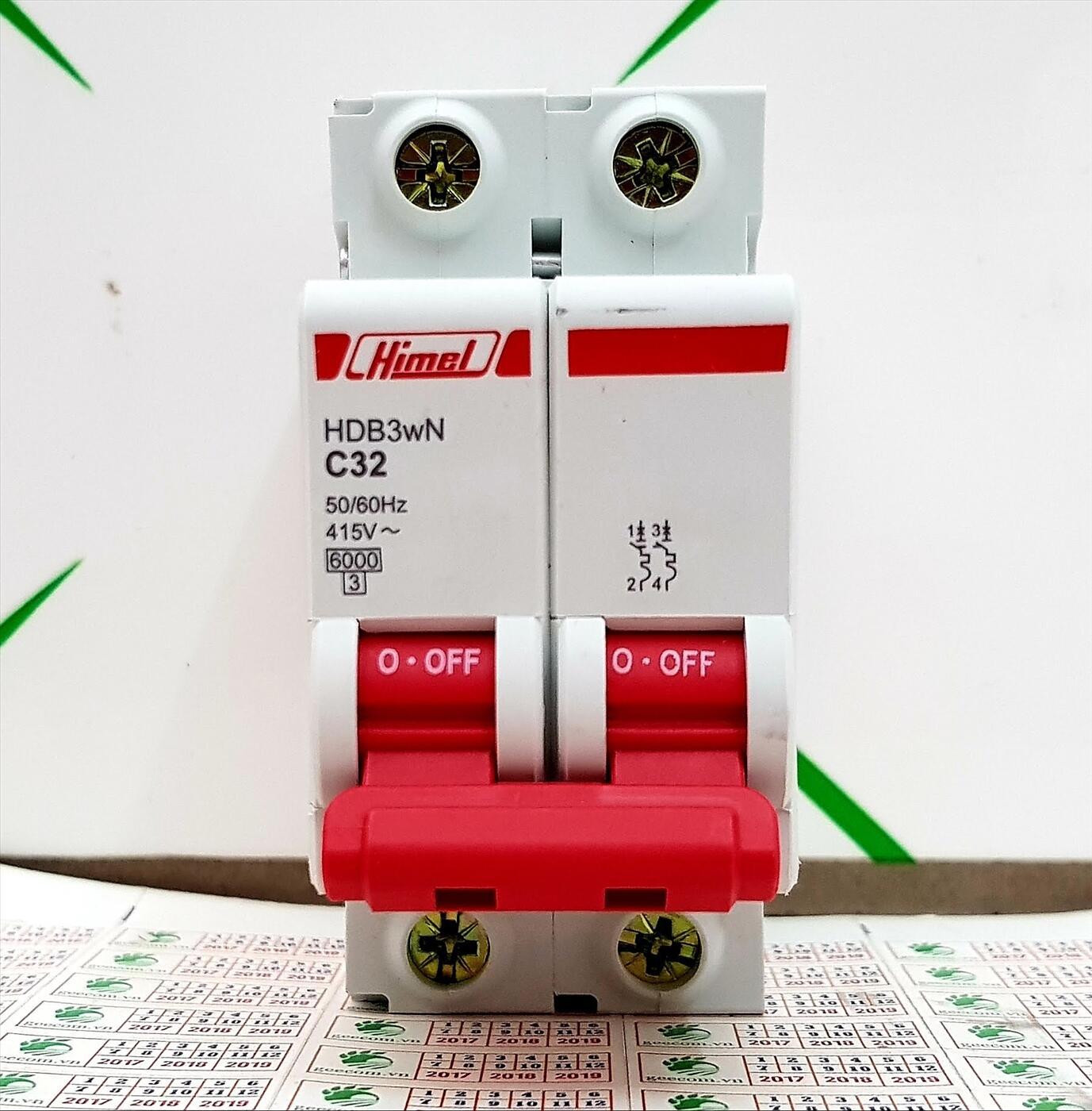 MCB Himel 2P 32A