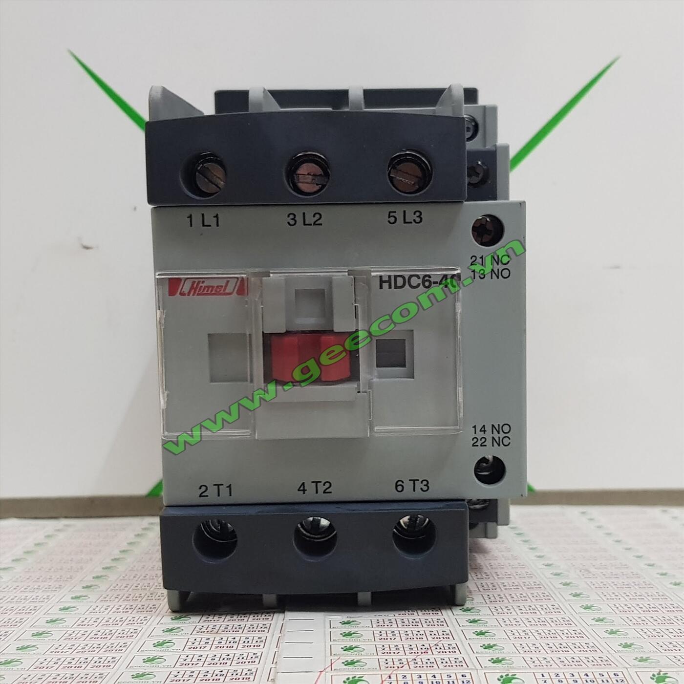 Contactor Himel 3 pha 95A