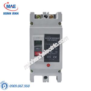 MCCB 2P 16A 50kA Type M - Model HDM1100M162