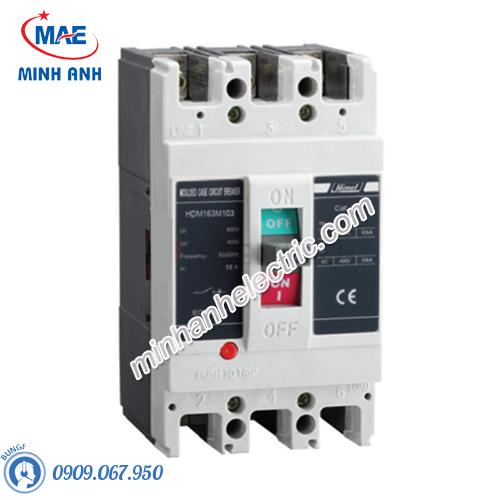 MCCB 3P 63A 50kA Type M - Model HDM1100M633