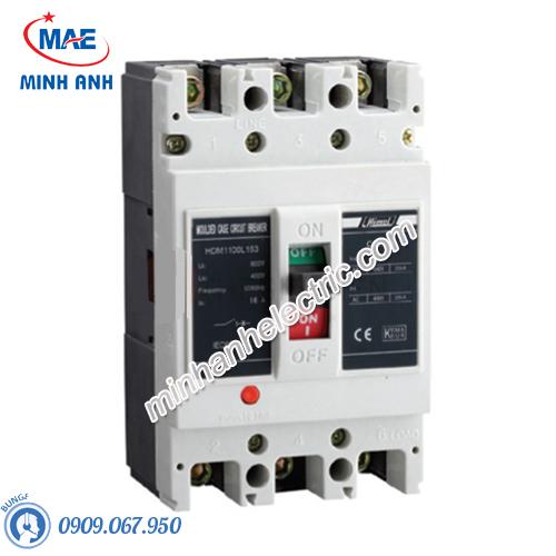 MCCB 3P 10A 50kA Size M - Model HDM163M103