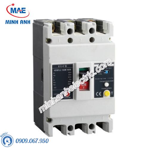 ELCB 3P 100A 300mA 50kA Type M - Model HDM1LE225M1003