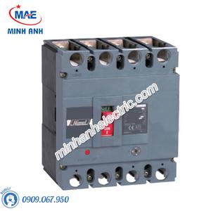 MCCB 4P 160A 50kA - Model HDM6S250M1604XXX3