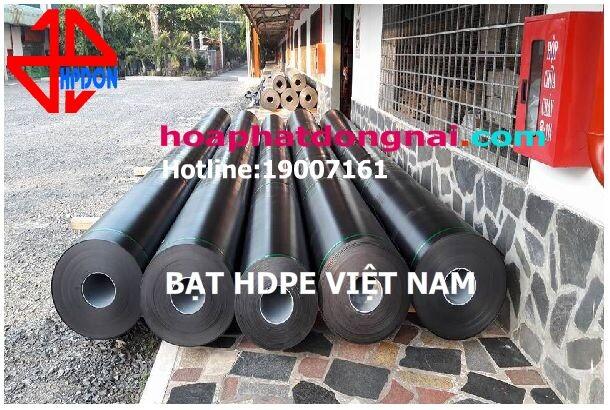 Bạt chống thấm HDPE Việt Nam