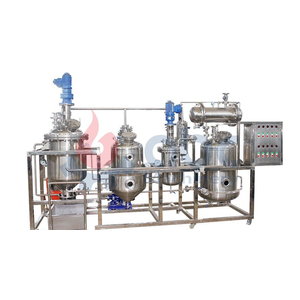 Hệ thống chiết xuất dung môi 100 lít