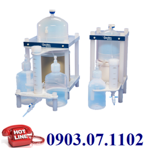 Hệ Thống Chưng Cất Axit HNO3, HCL, HF, H2O Hãng Savillex - Mỹ