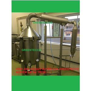 Hệ thống chưng cất tinh dầu bằng hơi nước 100 lít - KOHGA Nhật Bản