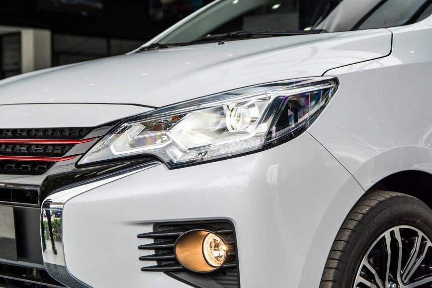 Hệ thống đèn chiếu sáng Full LED trên Attrage CVT bản cao cấp