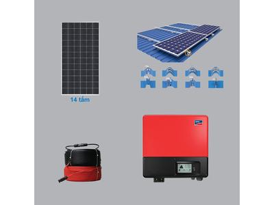 Hệ Thống Điện Mặt Trời 5.46 kWp 1 Pha
