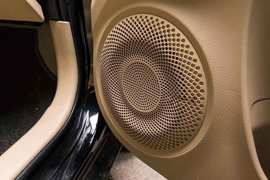 Hệ thống âm thanh 6 loa của Toyota Vios