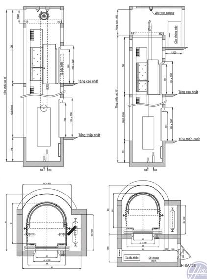 Hệ thống thang máy lồng kính