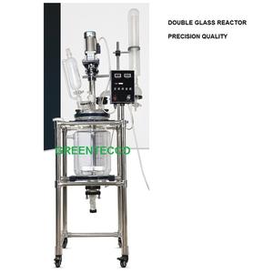 Hệ thống thí nghiệm chiết xuất thủy tinh hai lớp 20 lít phòng thí nghiệm