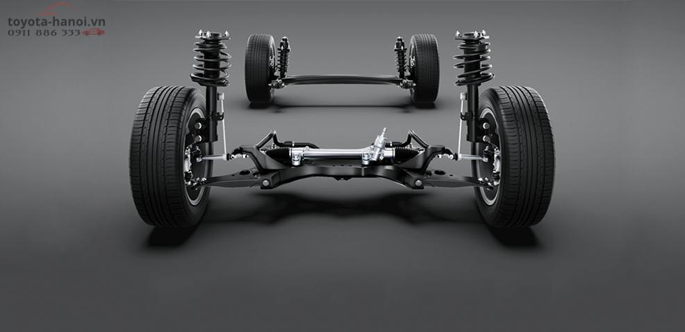 Hệ thống treo xe Toyota Altis 2020