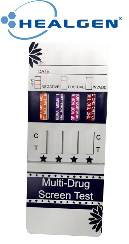 Test thử ma túy tổng hợp Healgen Multi 4 Drug