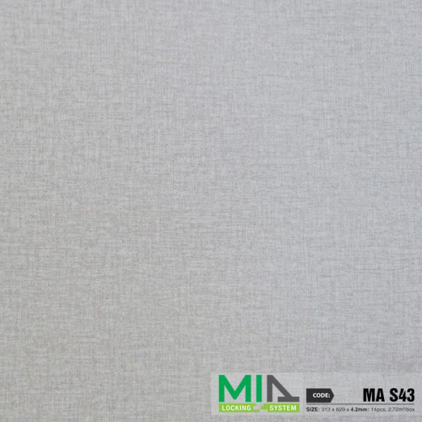 SÀN NHỰA VÂN THẢM HÈM KHÓA MIA SPC MAS43