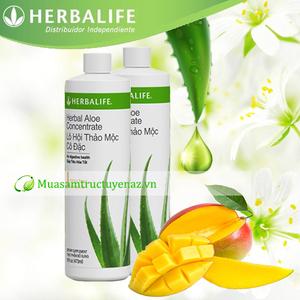 Herbalife Aloe Lô hội thảo mộc cải thiện hệ tiêu hóa, hấp thu tốt tăng cân