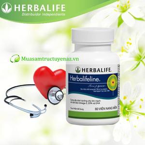 Herbalifeline Tinh Dầu gan cá omega 3 - Dinh dưỡng cho trái tim bạn khỏe mạnh