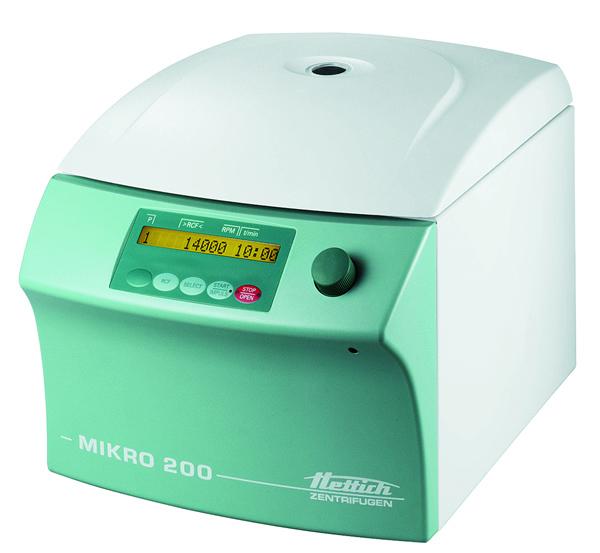 Máy li tâm Hettich Mikro 200
