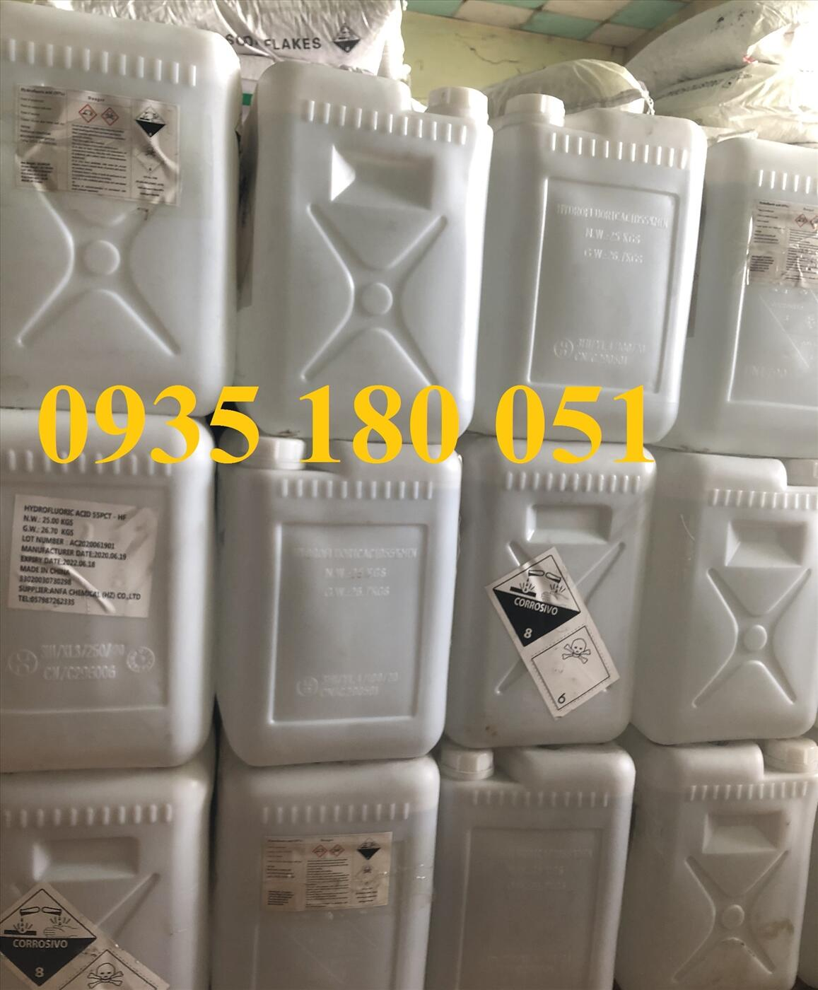 Hydroflouric acid HF 55%