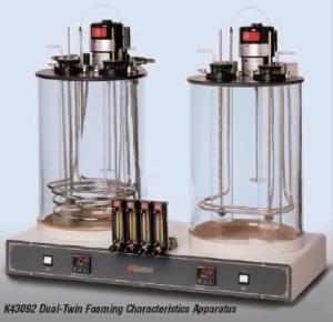 Máy đo đặc tính tạo bọt của dầu loại 2 bể