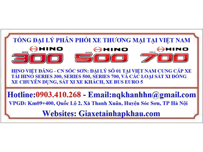 HINO FC9JJTC/HIEPHOA-QH 2021