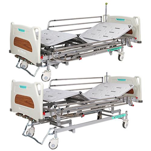 Giường y tế 3 tay quay Hồng Kỳ HK-9017