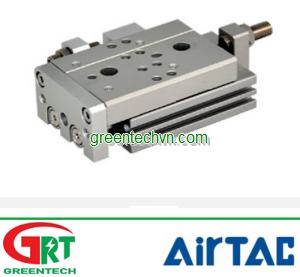 Pneumatic cylinder / double-acting / double-rod HLQ series | Airtac Vietnam | Khí nén Airtac