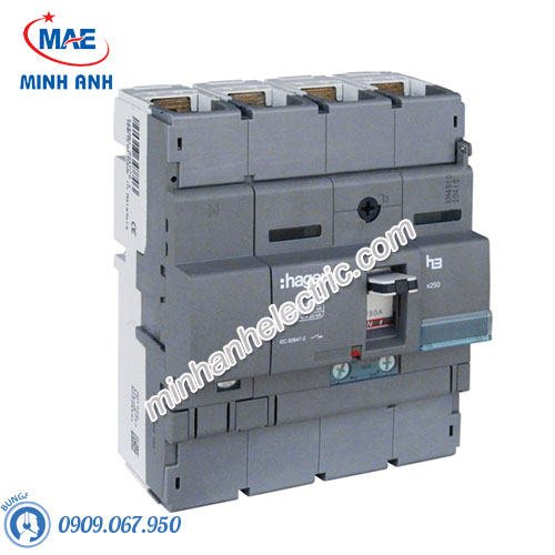Thiết bị đóng cắt Hager (MCCB) - Model HNB201U