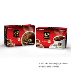 Cà phê G7 - Hoà tan đen Trung Nguyên