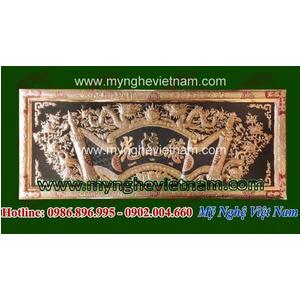 Mẫu hoành phi Vạn cổ Anh linh - bằng đồng nguyên chất