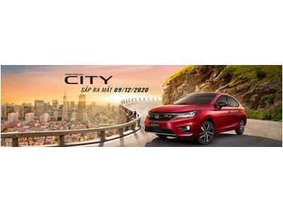 Honda City thế hệ thứ 5 sắp ra mắt thị trường Việt Nam