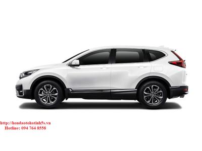 Honda CR-V bản E màu trắng mới