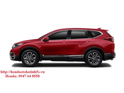Honda CR-V bản L màu đỏ mới