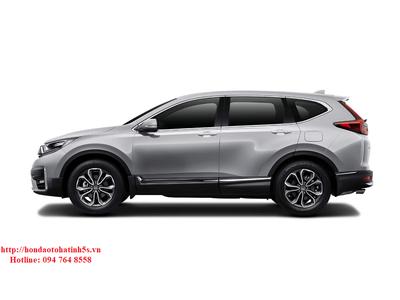 Honda CR-V bản L màu ghi bạc mới