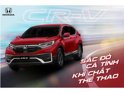 Honda CR-V: Thêm sắc đỏ - Tôn cá tính