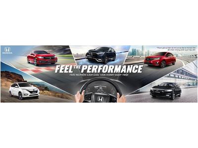 """Honda Việt Nam công bố Chiến dịch quảng bá thương hiệu Honda Ôtô """"Feel The Performance"""""""
