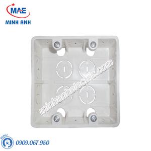 Hộp âm nhựa trắng, đôi - Model FPCA102