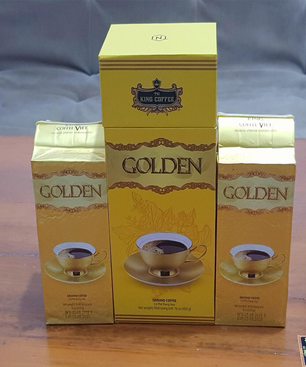 Hộp Quà tặng Cafe King Coffee Golden( 450gam)